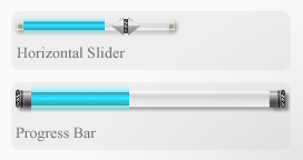 Slider and Progress Bar