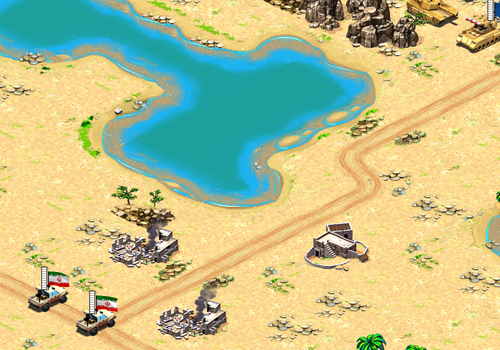 Desert Stormfront: Screenshot 2 (Alpha)