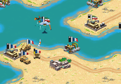 Desert Stormfront: Screenshot 4 (Alpha)