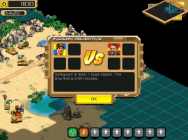 Screenshot 1: Desert Stormfront for iOS