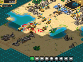 Screenshot 2: Desert Stormfront for iOS