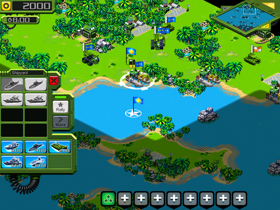 Screenshot 4: Tropical Stormfront for iOS