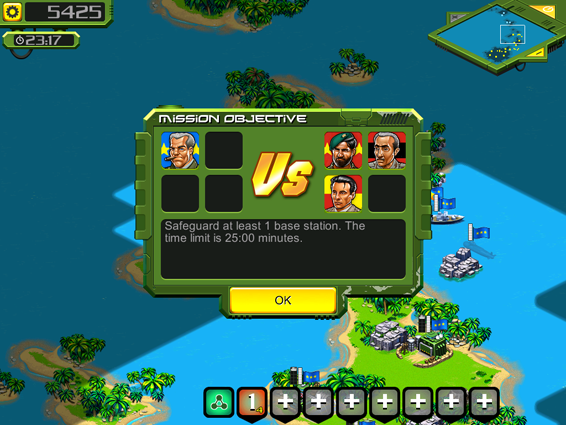 Screenshot 3: Tropical Stormfront for iOS