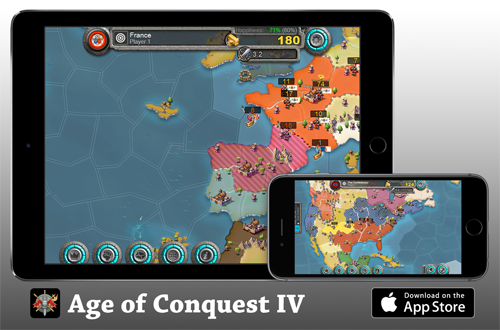 Age of Conquest IV - Released for iPhone, iPad & iPod