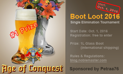 Boot Loot Competition (2016)