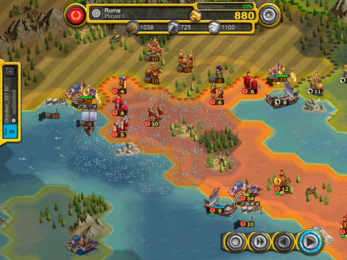 Demise of Nations - Screenshot